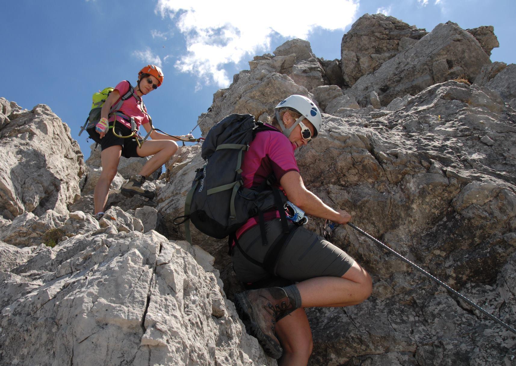 Mindelheimer Klettersteig Unfall : Klettersteig mindelheimer hÜtte